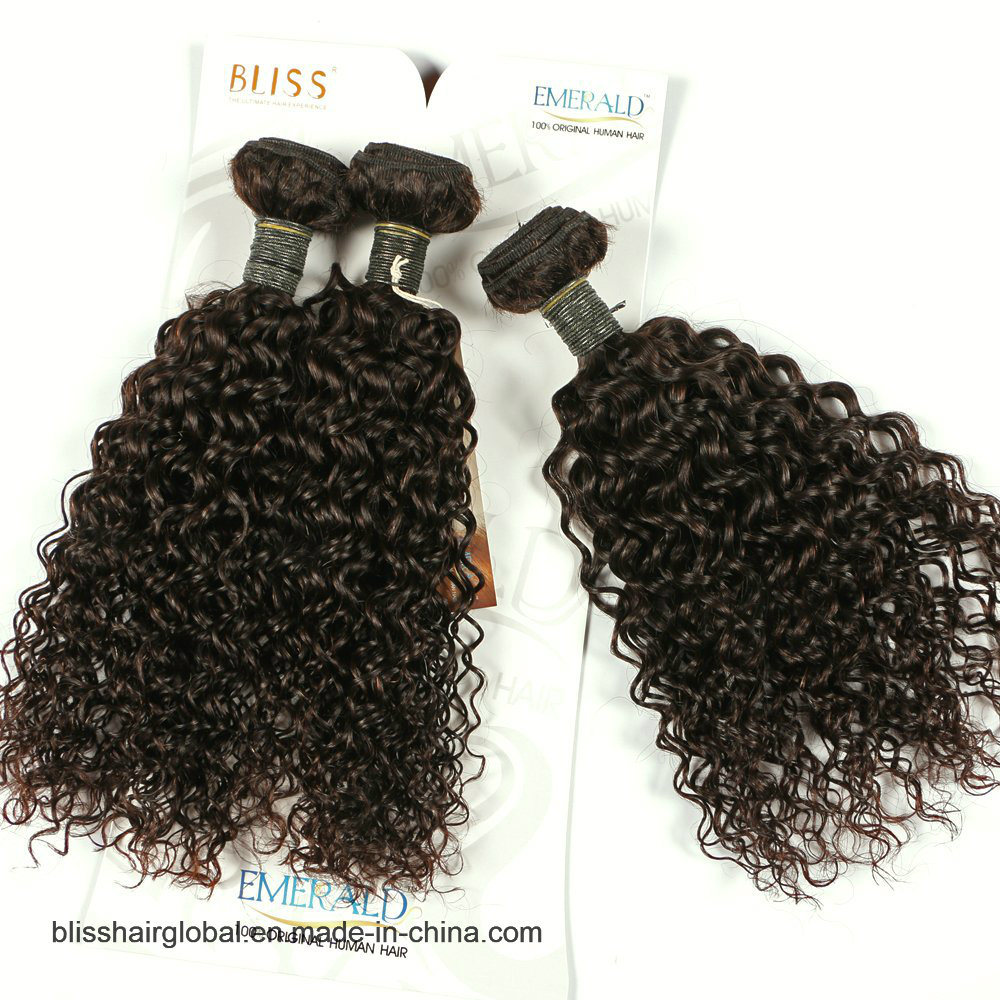 China Virgin Human Hair Remy Brazilian Hair Extension Curly Weavy