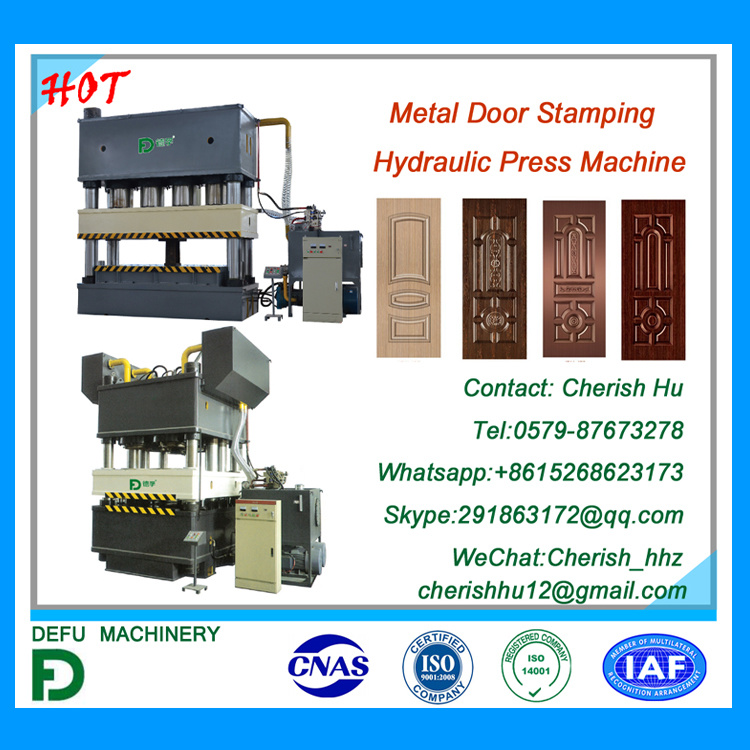 Press Machine for Metal Door