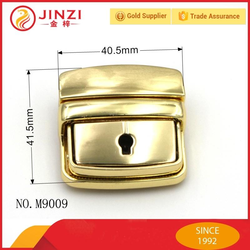 China Bag Hardware Vintage Metal Briefcase Push Lock for Bags Lock M9009 -  China Lock, Metal Lock