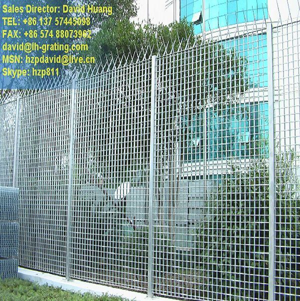 Galvanized Steel Grating Fences pictures & photos