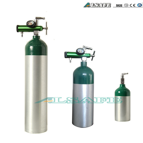 China 0 5l To 50l Aluminum Medical Oxygen Cylinder Size Chart Photos