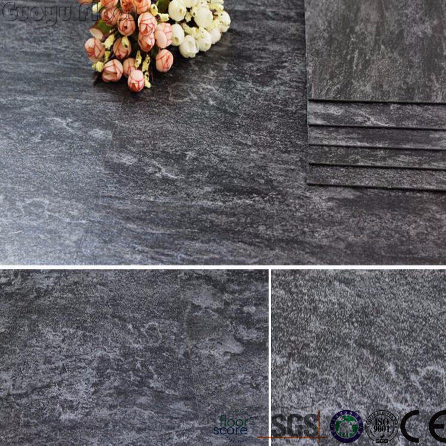 China Marble Look Pvc Self Stick Vinyl Floor Tile Plastic