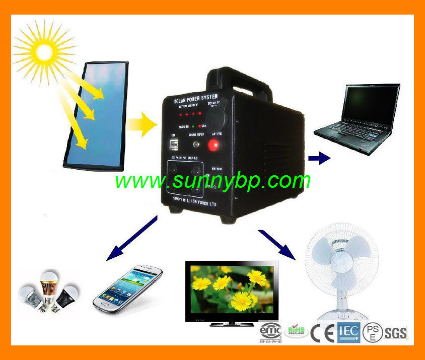 10W-20W-30W-50W Portable Solar Cell Home Generator pictures & photos