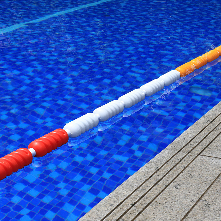 [Hot Item] Spiral Shape Swimming Pool Lane Line Swimming Lane Rope Swimming  Equipment Lane