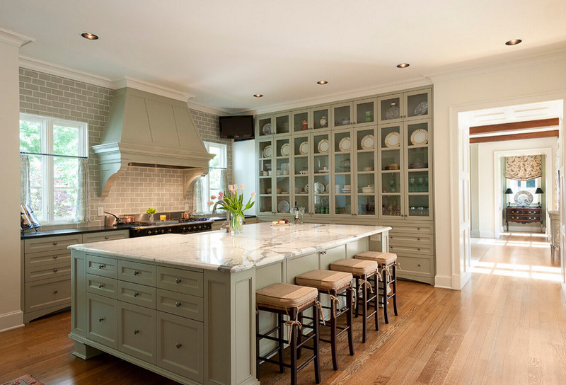 China American Country Style Kitchen Cabinet - China Country ...