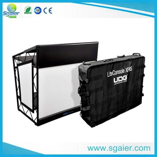 china pioneer dj table mobile dj equipment table folding dj booth photos pictures made in. Black Bedroom Furniture Sets. Home Design Ideas