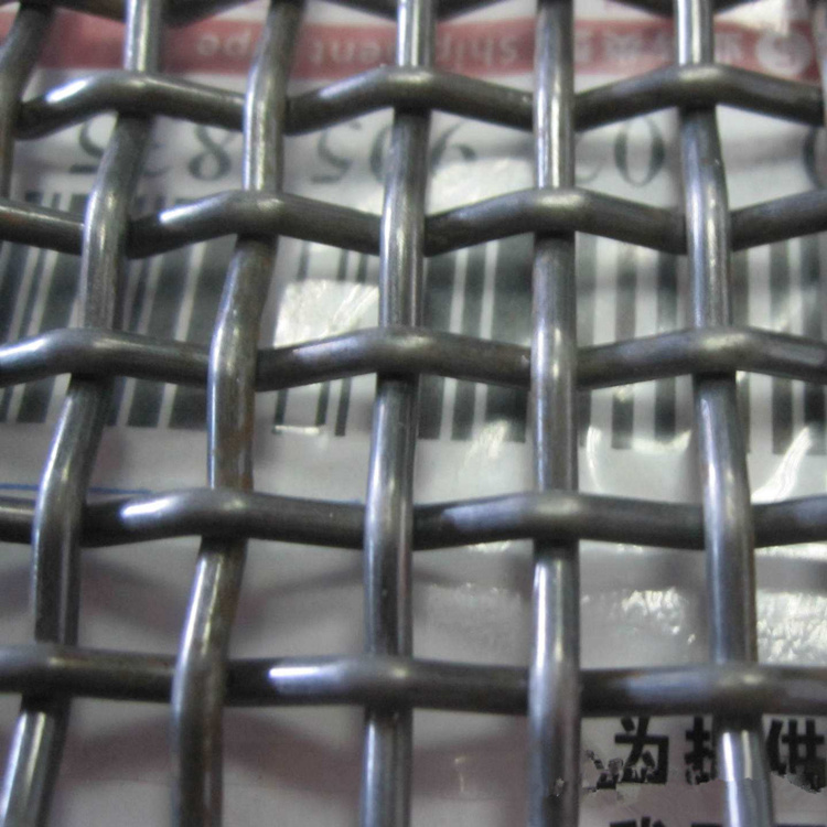 China Stainless Steel Woven Metal Wire Mesh for Vibration Screen ...