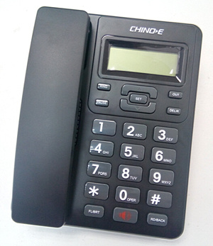 Caller ID Telephone, LCD Display, Handsfree Phone, Landline Phone, Landline Telephone