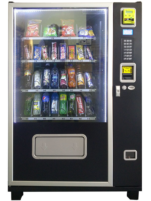 Hot Sale Small Snack & Drink Combo Vending Machine (KM408) pictures & photos