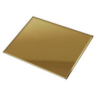 China 4mm 5mm Bronzre Golden Color Glass Mirror China Colored Tinted Mirror Tinted Mirror
