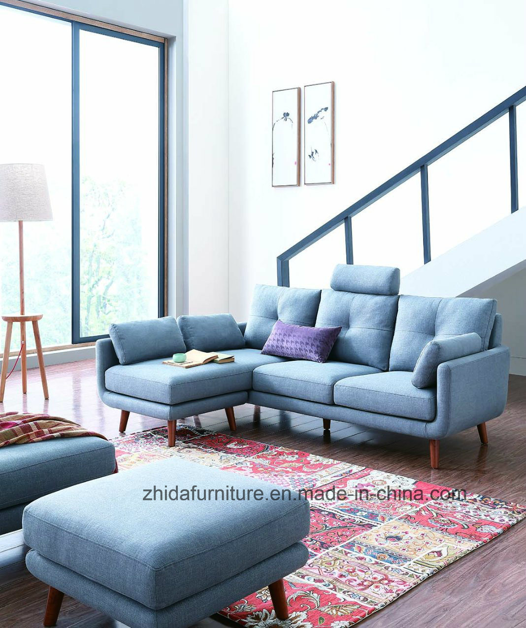 China Small Modern Living Room Fabric