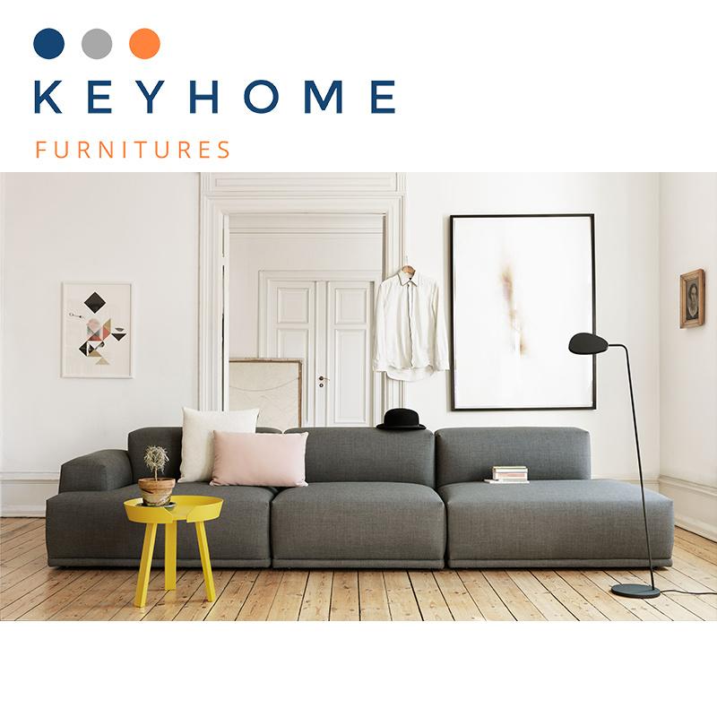 Modern Fabric Corner Sofa