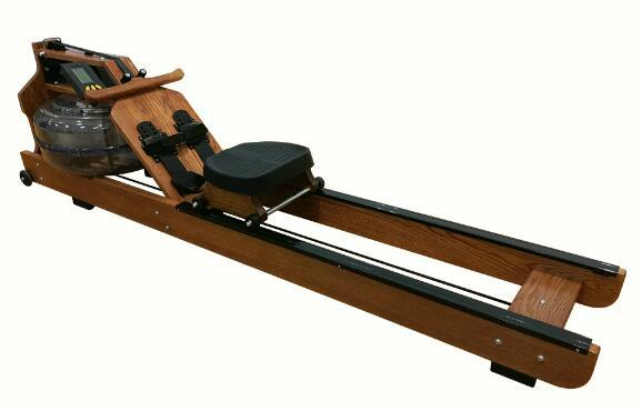 Hot Item Fitness Equipment Gym Equipment Cardio Machine Water Wooden Resistance Rowing Machine