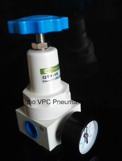Qty Series Air Source Treatment Regulator Qty-15 pictures & photos