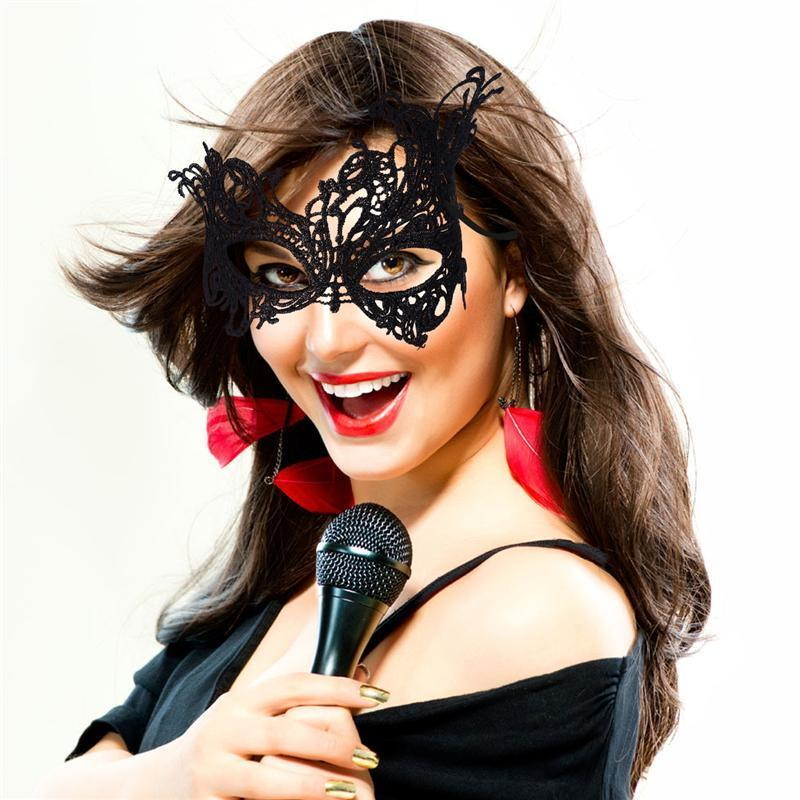 b2e8f43333cc Sexy Lace Eye Mask Venetian Masquerade Ball Party Fancy Dress Costume Lady  Gifts Wedding Event Party Masks