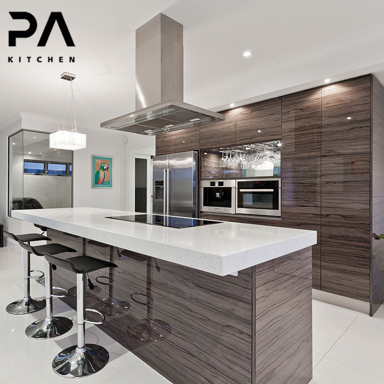 China Manufacturer Luxury High End, High End Kitchen Cabinets Modern