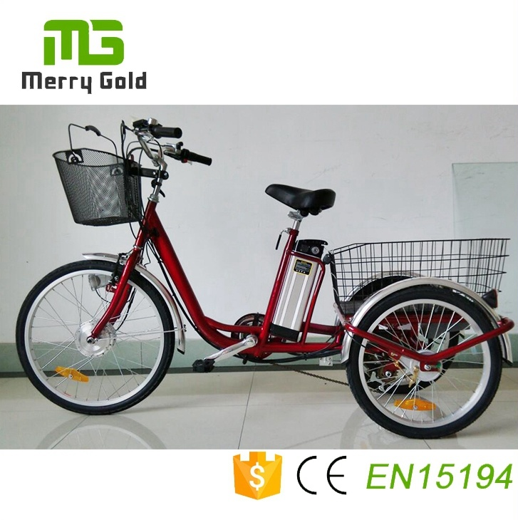 e2bb22cf297 China Popular Electric Tricycle with 36V 350W Motor for Shopping ...