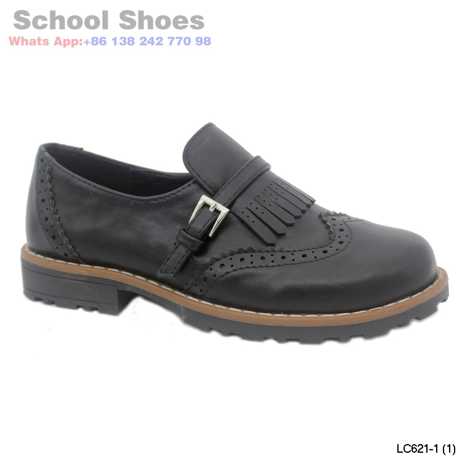 e4df259405e14 China Girls Kids Dr Martens Maccy 2 Black Leather School Shoes - China Kid  Shoes, Child Shoes