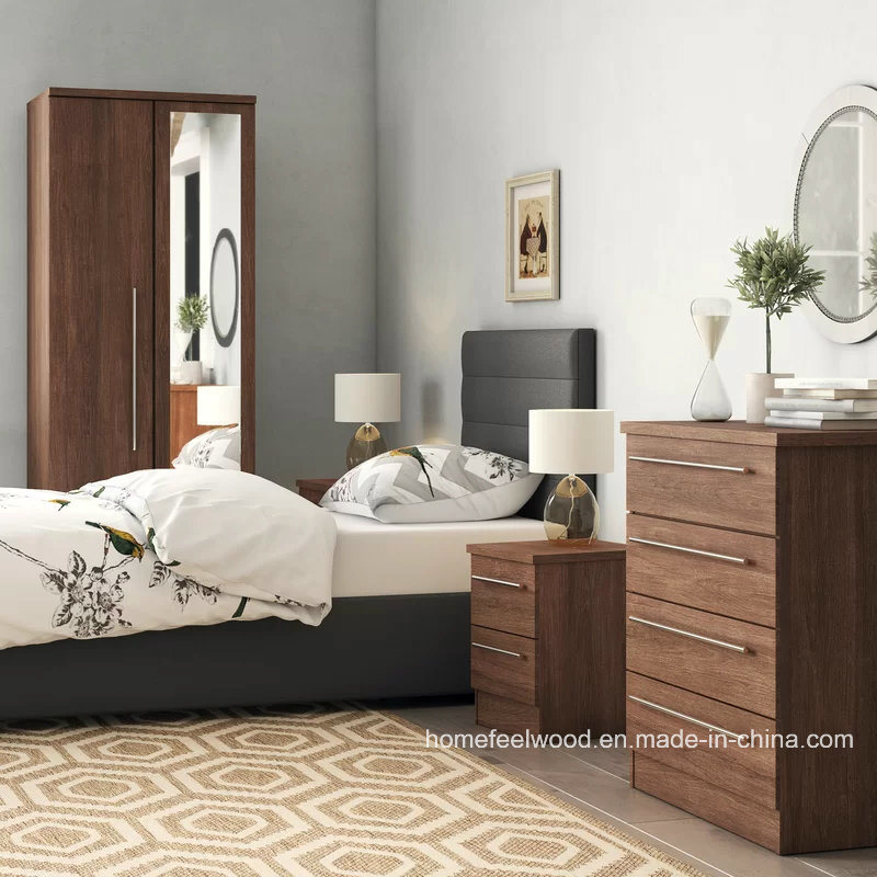 [Hot Item] Lyndale 4 Piece Home Bedroom Furniture Set (HF-WF035)