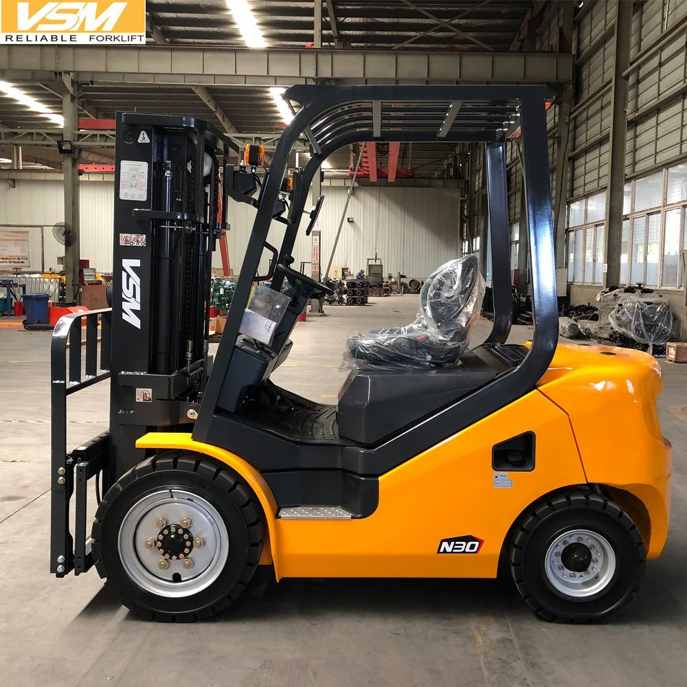[Hot Item] Vsm 3 Ton Diesel Forklift with Isuzu Engine Forklift Price
