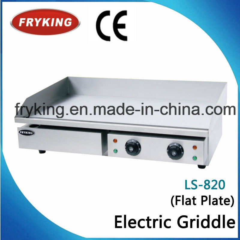 Professional Catering Stainless Body Teppanyaki Electric Griddle for Restaurant