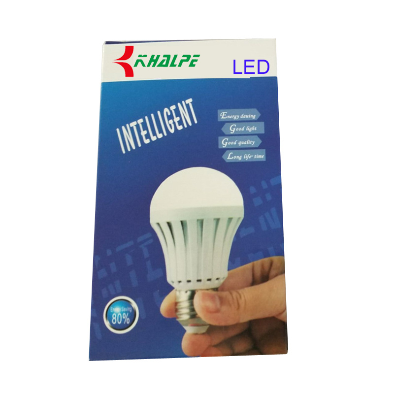 E27 5W-12W Intelligent Rechargeable LED Emergency Bulb/ LED Light pictures & photos