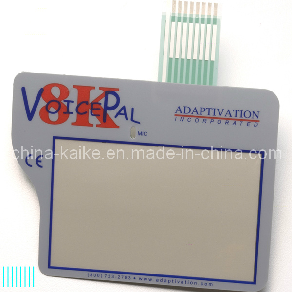 Micro Motion Membrane Switch Used for Disability Assistance Equipment