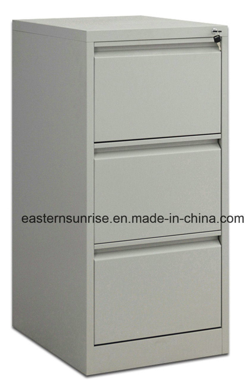 China wholesale iron steel office furniture three drawers china three drawers cabinet wholesale vertical cabinet