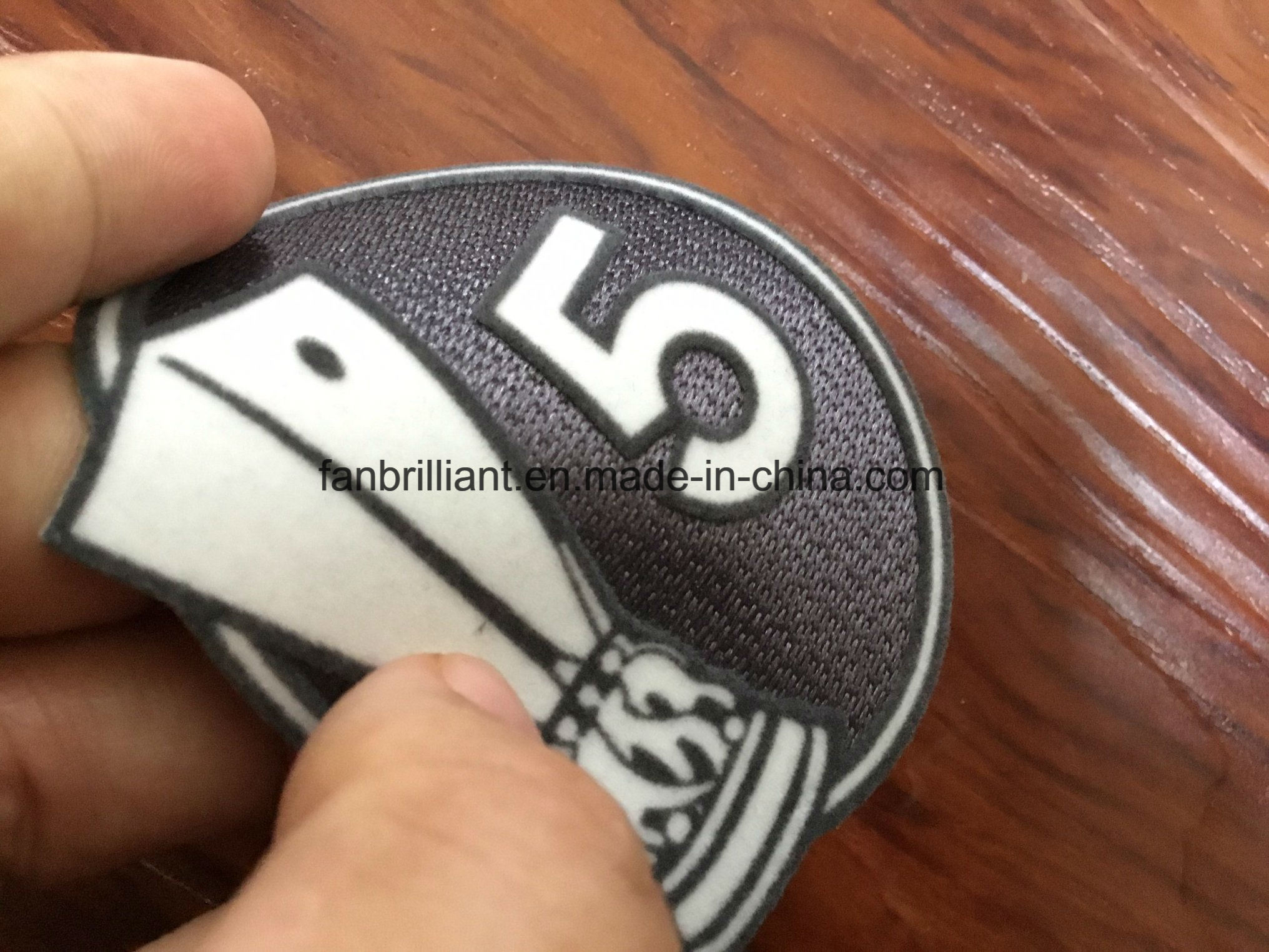 [Hot Item] Soccer/Football/World Cup 3D Flock Transfer Badges Soccer Patch