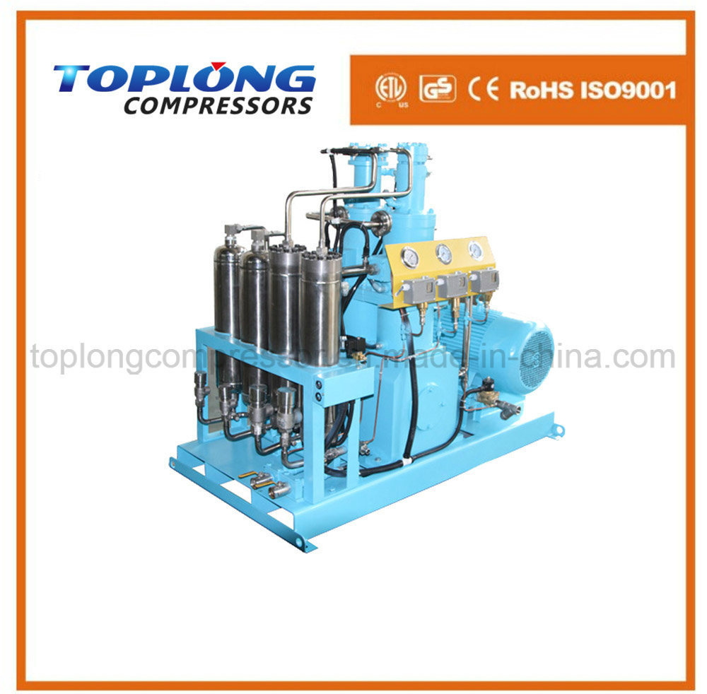 Oil Free High Pressure Hydrogen Compressor Helium Compressor (Gow-20/4-150 CE Approval)