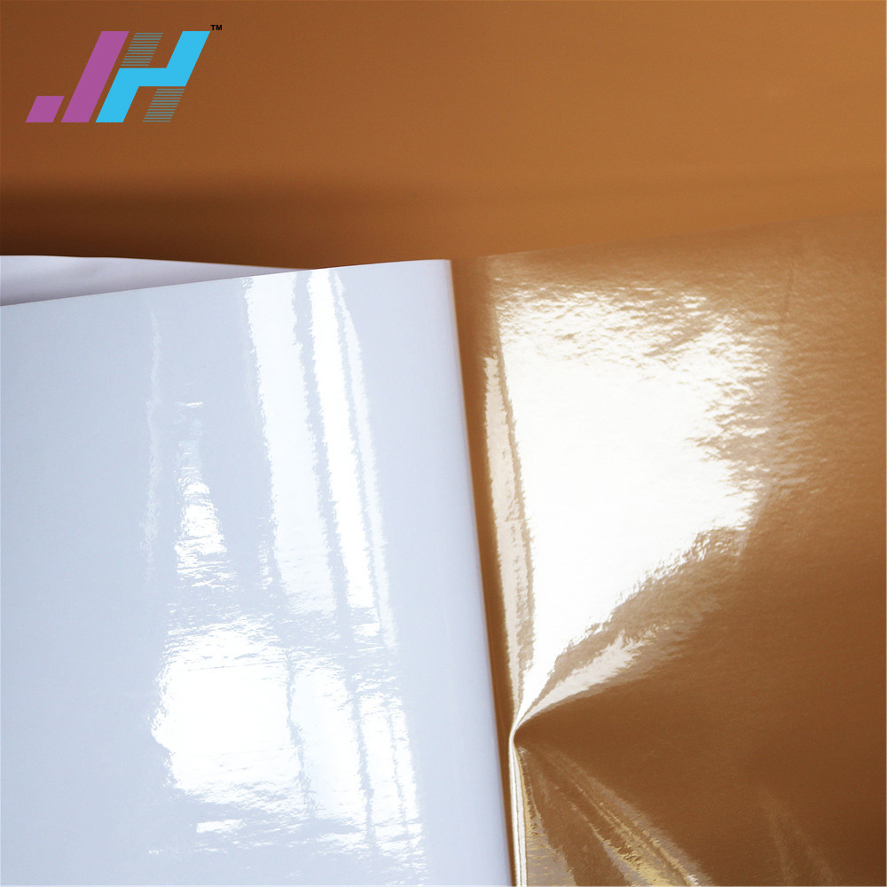 How is the self-adhesive film used
