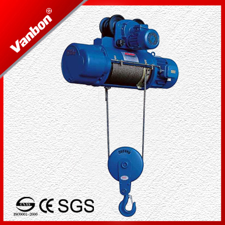 China 3t/9m CD Type Wire Rope Hoist - China Rope Hoist, Electric Winch