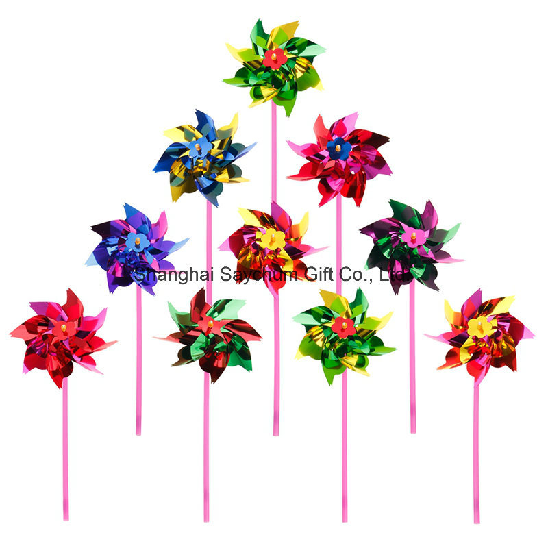 Christmas Decoration Garden Windmill, Holiday Design Plastic Pinwheel Windmill pictures & photos