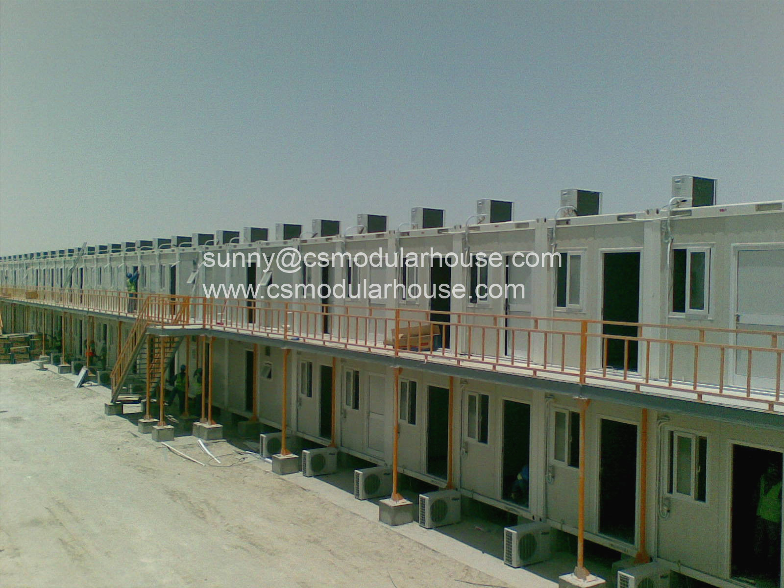 China low cost construction prefabricated house steel for Cost of building a new house