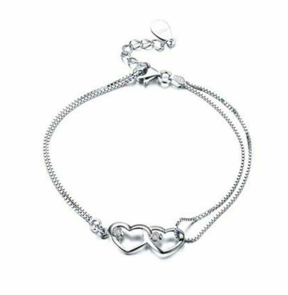 Box Chain Bracelet 925 Sterling