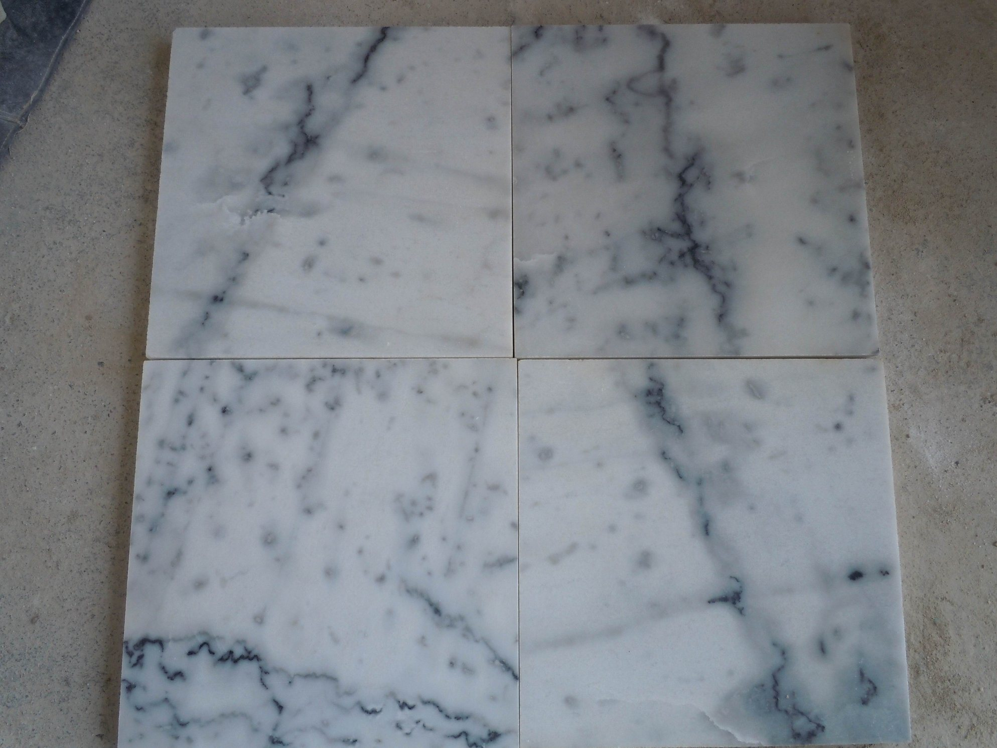 China High Quality Natural Marble Price Guangxi White Marble Slabs ...