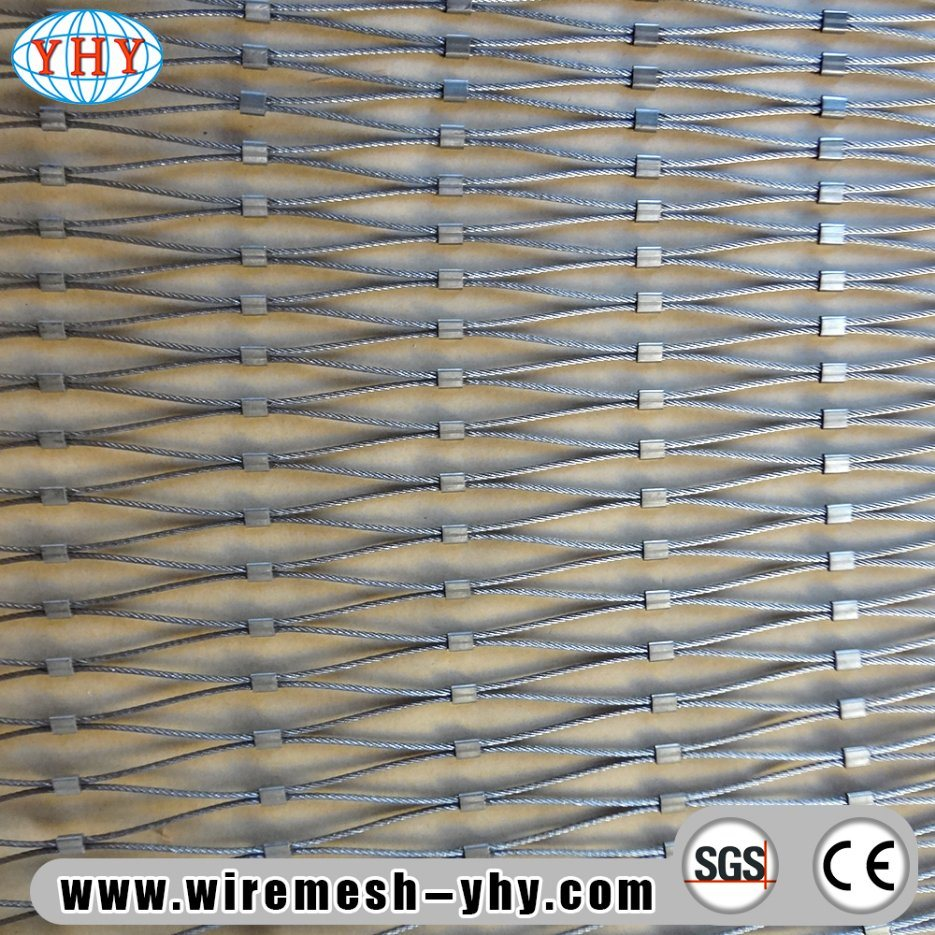 China Stainless Steel Woven Wire Mesh Used for Decorate Photos ...