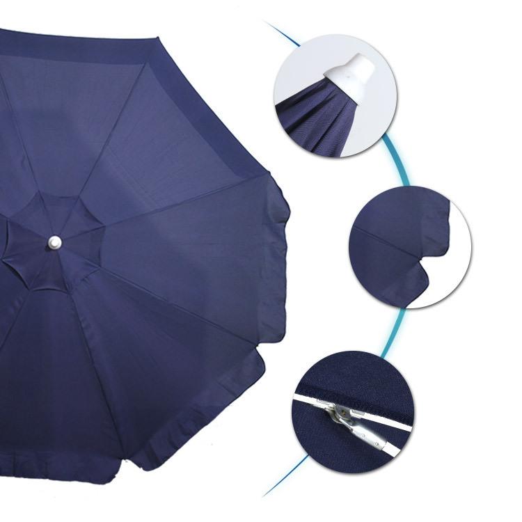 Beach Umbrella Blue Mint Two Way Tilt