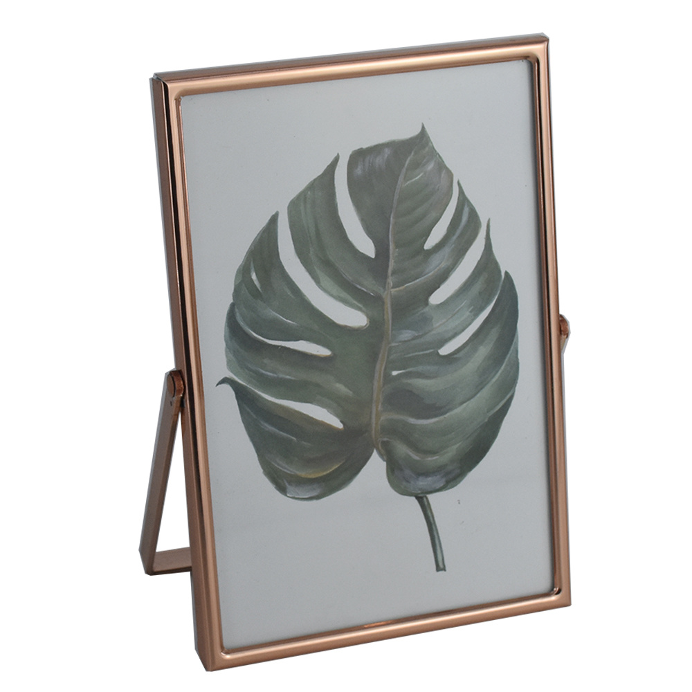 Wholesale Custom Tabletop Decor Metal Photo Picture Frame pictures & photos