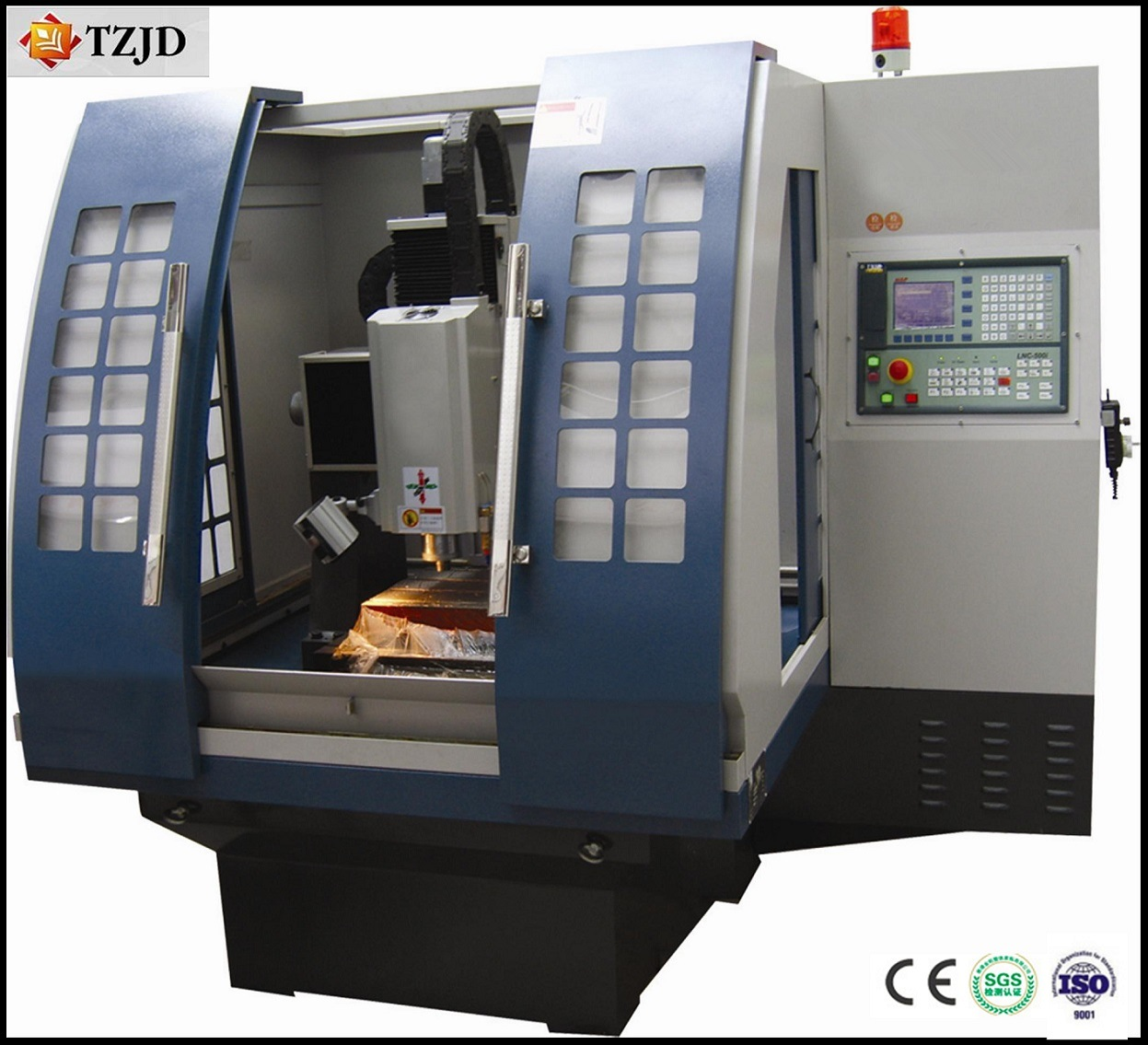 Newest Tzjd-6060mbn CNC Engraving Machine Mold Milling Machine pictures & photos