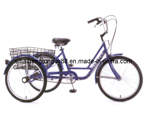 China Trike Steel Frame Shopping Tricycle (SH-T007) - China Tricycle ...