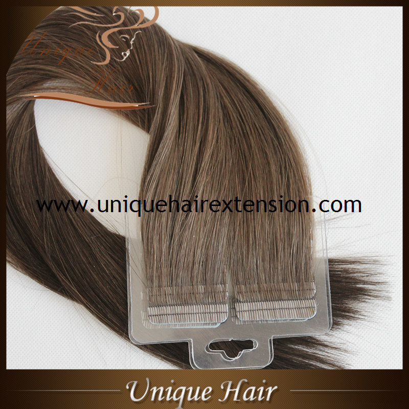 China Best Quality Virgin Tape In Hair Extensions China Tape In