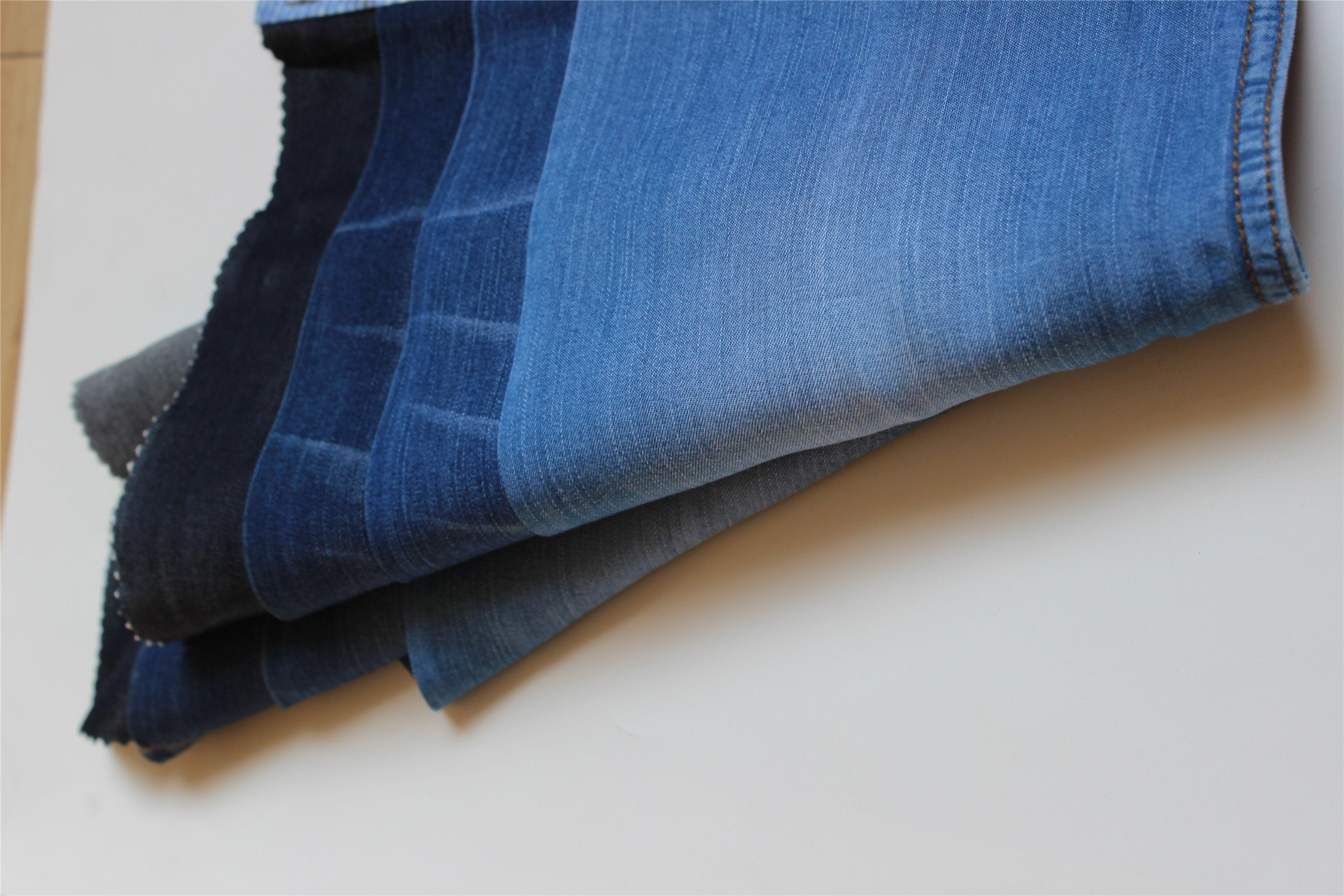 100%Tencel Indigo Denim For Garments