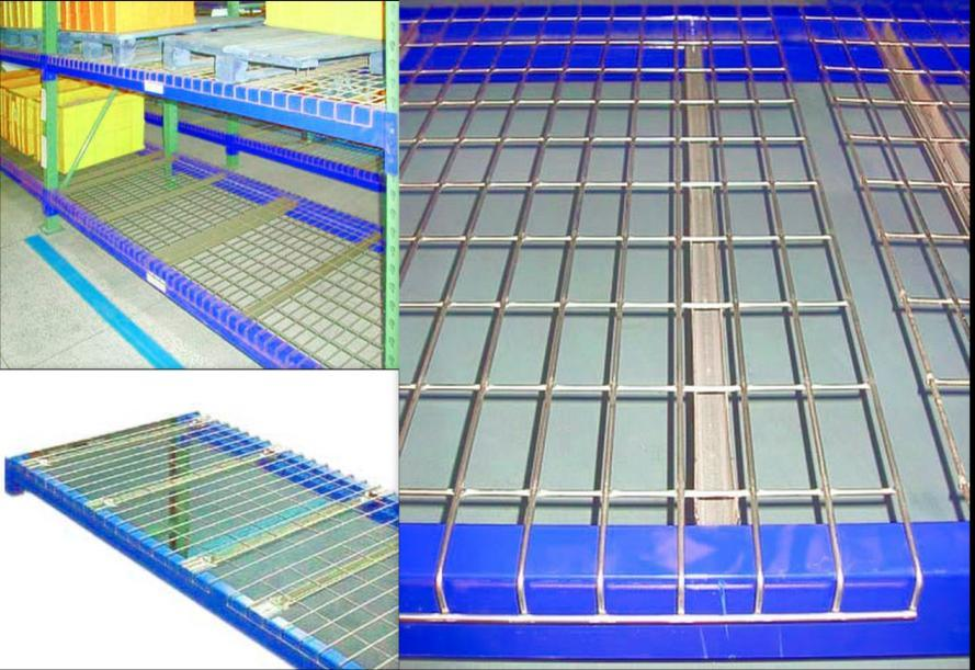 China Warehouse Heavy Duty Wire Mesh Decking for Warehouse Pallet ...