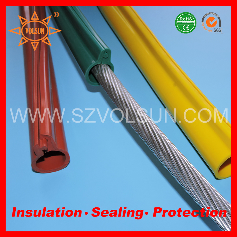 China High Voltage and Flexible Silicon Rubber Cable Protection ...