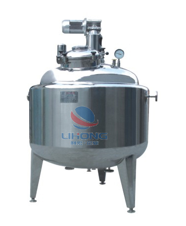 Steam Heating Stainless Steel Mixing Tank (Reactor) for Food, Beverage, Pharmaceutical, etc pictures & photos
