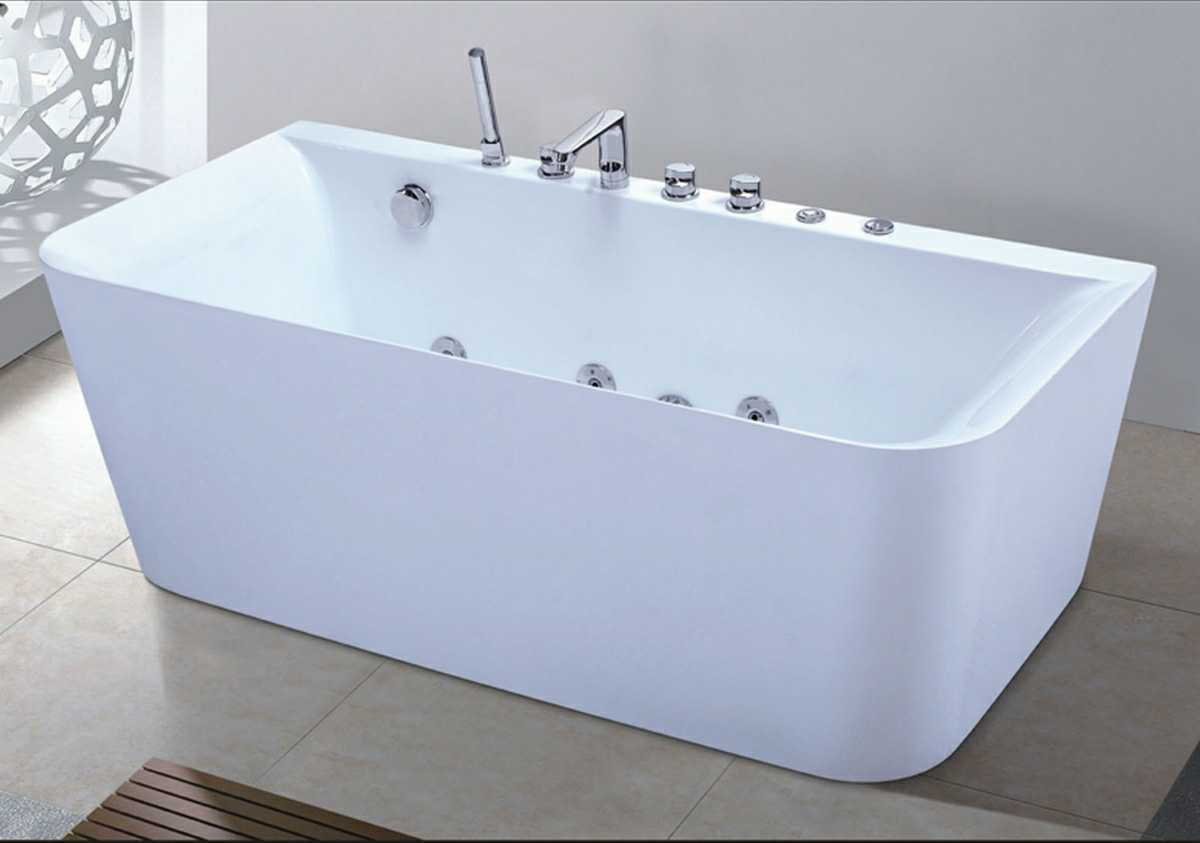 China 1600mm Rectangle Jacuzzi with Ce and RoHS (AT-6006) - China ...