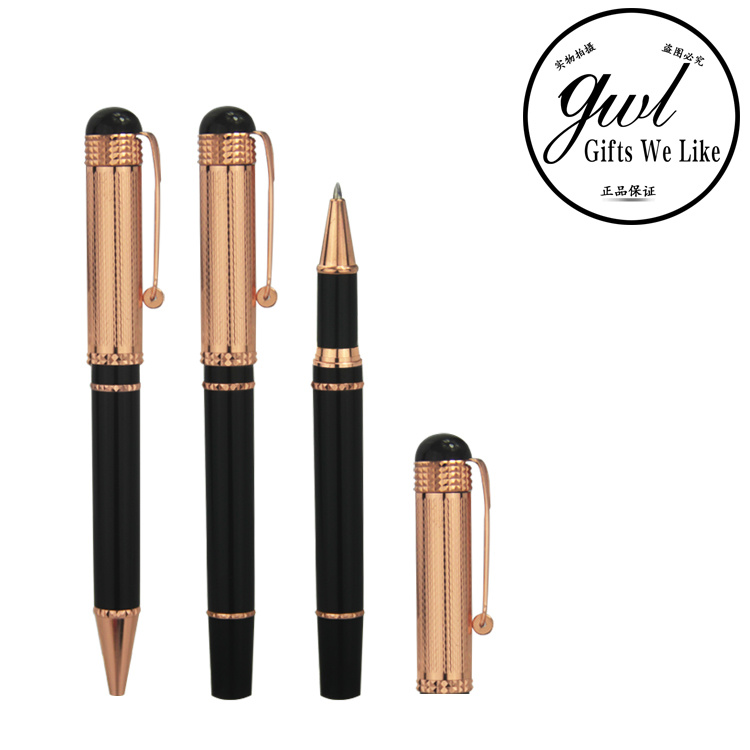 Metal Ball Pen with Gel Pen in Set for Promotional Gift pictures & photos