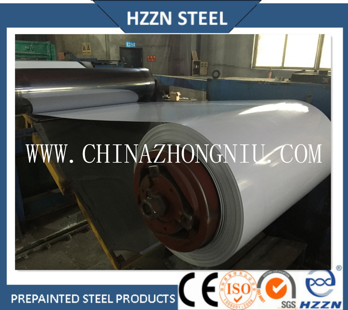 Ral Color Coated Steel Roll
