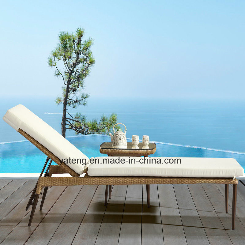 2017 New Sunlounge Outdoor Lounge Wicker Furniture Garden Lounge Using Pool Side &Hotel